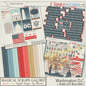 Washington DC (add-on bundle)
