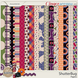 Shutterbug Papers by JoCee Designs