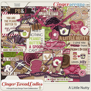 GingerBread Ladies Collab: A Little Nutty