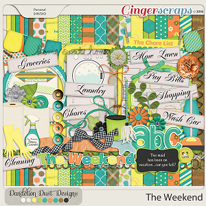 The Weekend by Dandelion Dust Designs