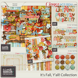 It's Fall Y'all Collection by Aimee Harrison