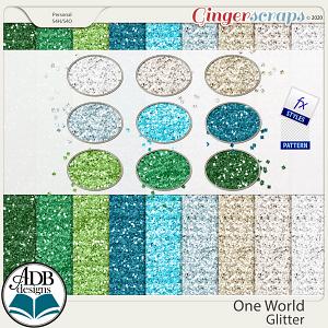 One World Glitter Pack by ADB Designs