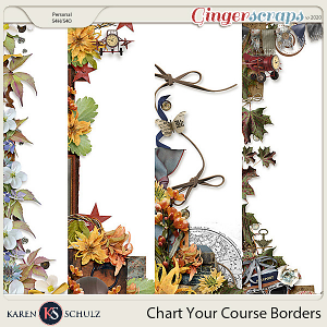 Chart Your Course Borders by Karen Schulz