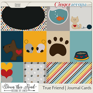 True Friend | Journal Cards