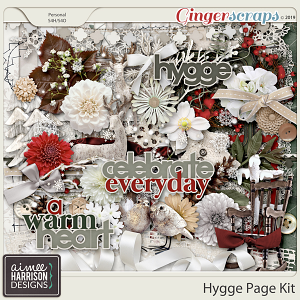 Hygge Page Kit by Aimee Harrison