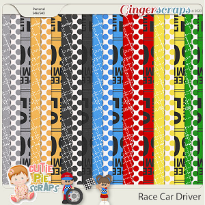 Race Car Driver Pattern Papers