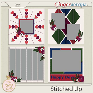 The Cherry On Top:  Stitched Up Templates