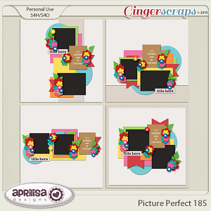 Picture Perfect 185 by Aprilisa Designs
