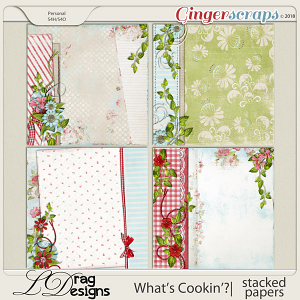 What's Cookin'?: Stacked Papers by LDragDesigns