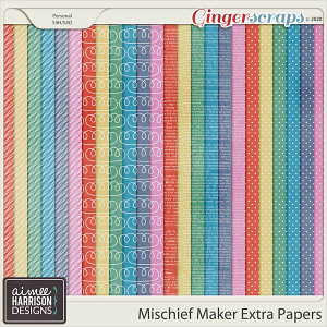 Mischief Maker Extra Papers by Aimee Harrison