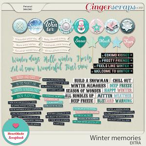 Winter memories - extra