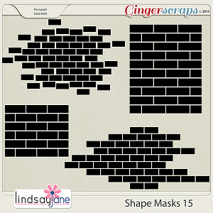 Shape Masks 15 by Lindsay Jane