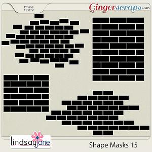 Shape Masks 15 by Lindsay Jane