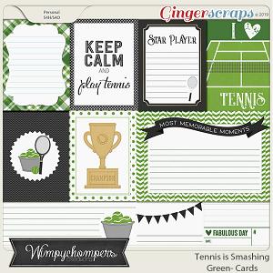 Tennis is Smashing- Black Cards