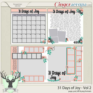 31 Days of Joy Volume 2