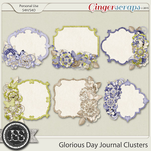 Glorious Day Journal Cluster Cards
