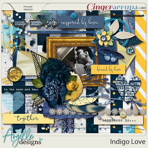 Indigo Love full kit by Angelle Designs