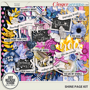 Shine Page Kit by JB Studio