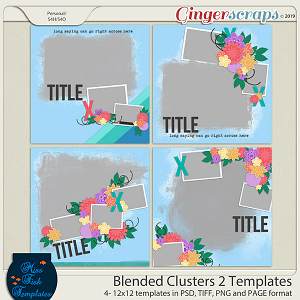 Blended Clusters 2 Templates by Miss Fish
