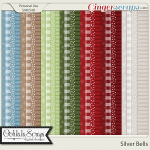 Silver Bells Pattern Papers