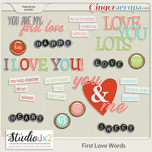 First Love Word Pack
