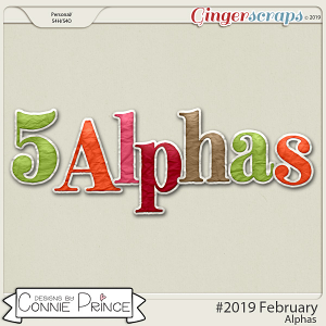 #2019 February - Alpha Pack AddOn by Connie Prince