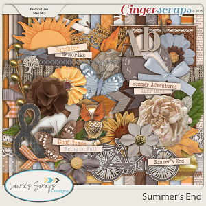 Summer's End Page Kit