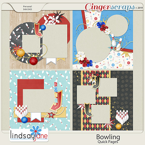 Bowling Quick Pages by Lindsay Jane