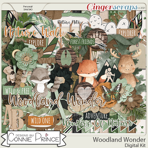 Woodland Wonder - Kit by Connie Prince