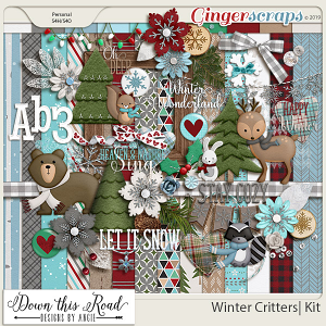Winter Critters|Kit