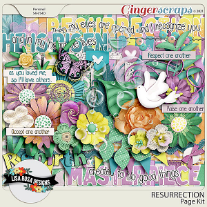 Resurrection - Page Kit by Lisa Rosa Designs