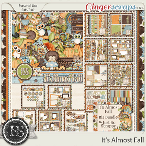 It's Almost Fall Digital Scrapbooking Collection