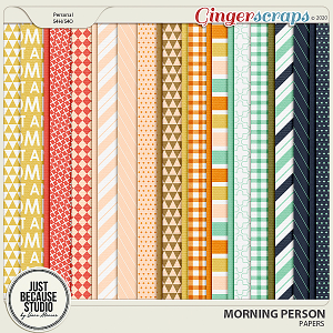 Morning Person Papers by JB Studio