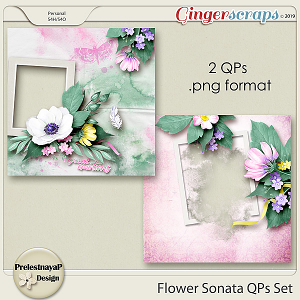 Flower Sonata QPs Set
