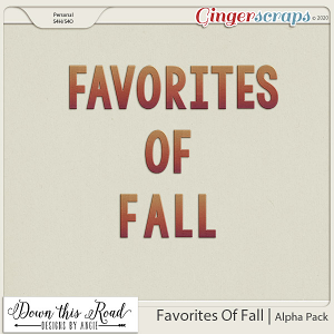 Favorites Of Fall | Alpha Pack
