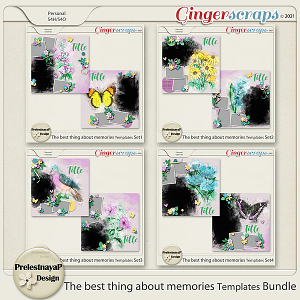 The best thing about memories Templates Bundle