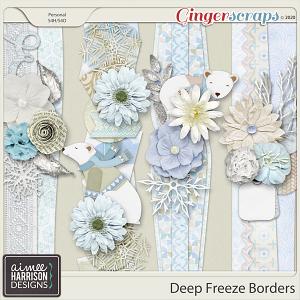 Deep Freeze Borders by Aimee Harrison