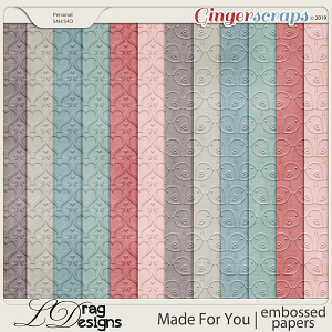 Made For You: Embossed Papers by LDragDesigns