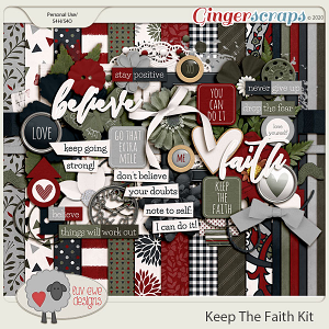 Keep The Faith Kit by Luv Ewe Designs
