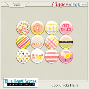 Cool Chicks Flair Pack