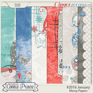 #2016 January - Messy Papers
