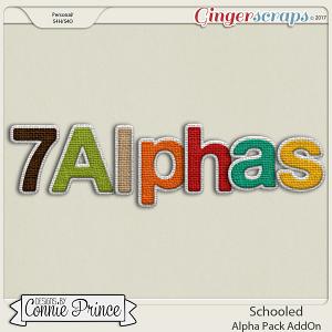 Schooled- Alpha Pack AddOn