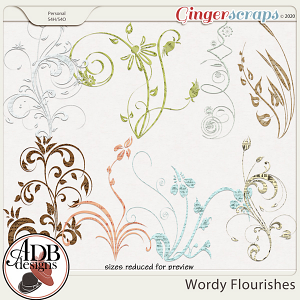 Heritage Resource - Wordy Flourishes by ADB Designs