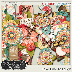 Take Time To Laugh Page Borders