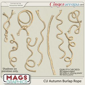 CU Burlap Rope by MagsGraphics
