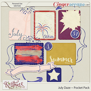 July Daze Pocket Pack