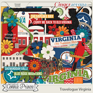 Travelogue Virginia - Kit