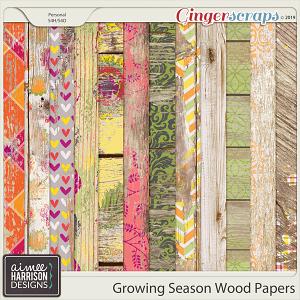 Growing Season Wood Papers by Aimee Harrison