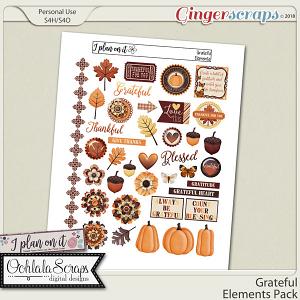 Grateful Planner Elements Pack