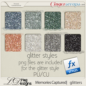 Memories Captured: Glitterstyles by LDragDesigns